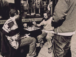 Chess by Strikethecamera