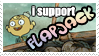 flapjack. stamp by yeslek