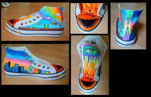 Custom shoe 1 by acjub