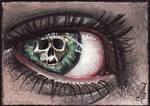 Stare death in the eye by acjub