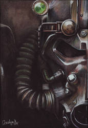 Brotherhood of Steel by acjub