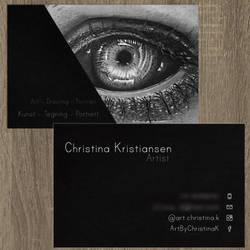Business Card Design by acjub