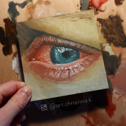 Oil painting study by acjub