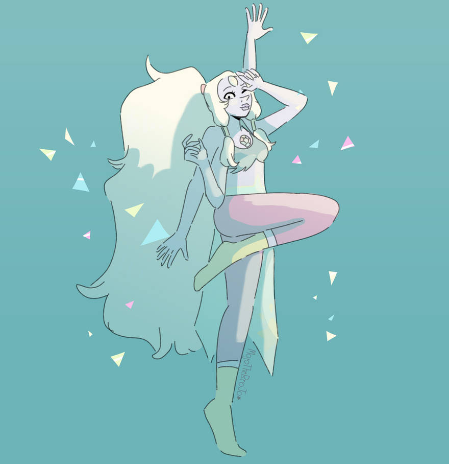 So I realized Opal got a new outfit... and she was poofed so we'll never see it again.