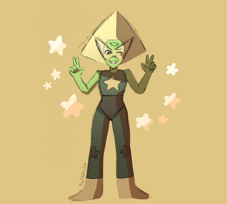 I think Peridot's new form suits her well!