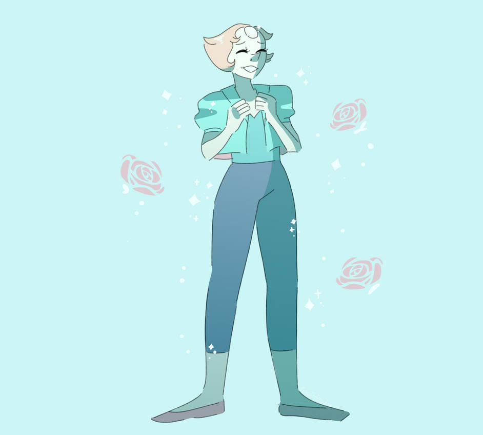 Pearl's new outfit is great.