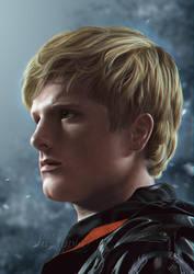 Peeta Mellark - Hunger Games (Edited) by LuzTapia