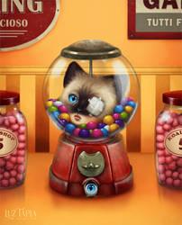 Candy machine by LuzTapia