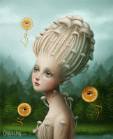 Lady Orangis (2017) by LuzTapia