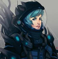 Cosmonaut by Sha-H
