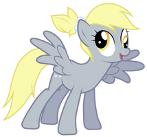 Derpy With A Ponytail by JennieOo