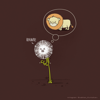 To Be a Dandelion by NaBHaN