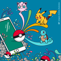 Pokemon Go by NaBHaN