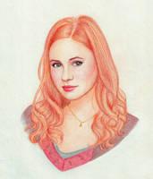 Amy Pond by MoShmoe