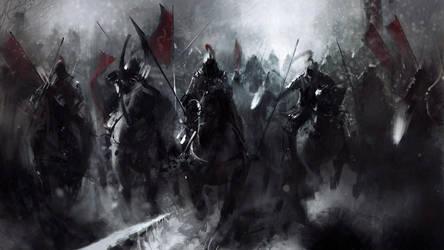 Army Of Dark Knights by JOAOBATMAN22