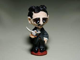 Chibi Nikola Tesla (1856 - 1943) - commission by maga-01