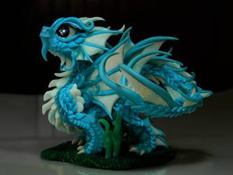 Chibi Shio (Water Little Dragon) by maga-01