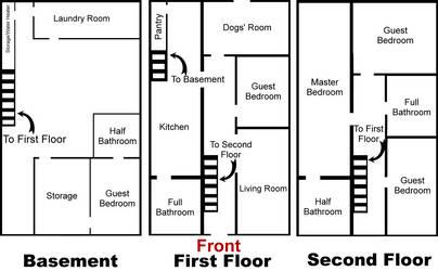 Rust's House Floorplan by AlphaWolfAl