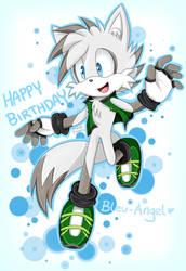 Gift: Happy Birthday Bleu-Angel! by DanielasDoodles