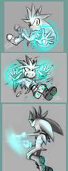 Silver doodles by DanielasDoodles