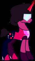 SU Garnet - Pony Version by Osipush