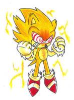 Fleetway Super Sonic by KGN-000