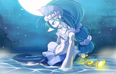 The Midnight Sea by hakkasm