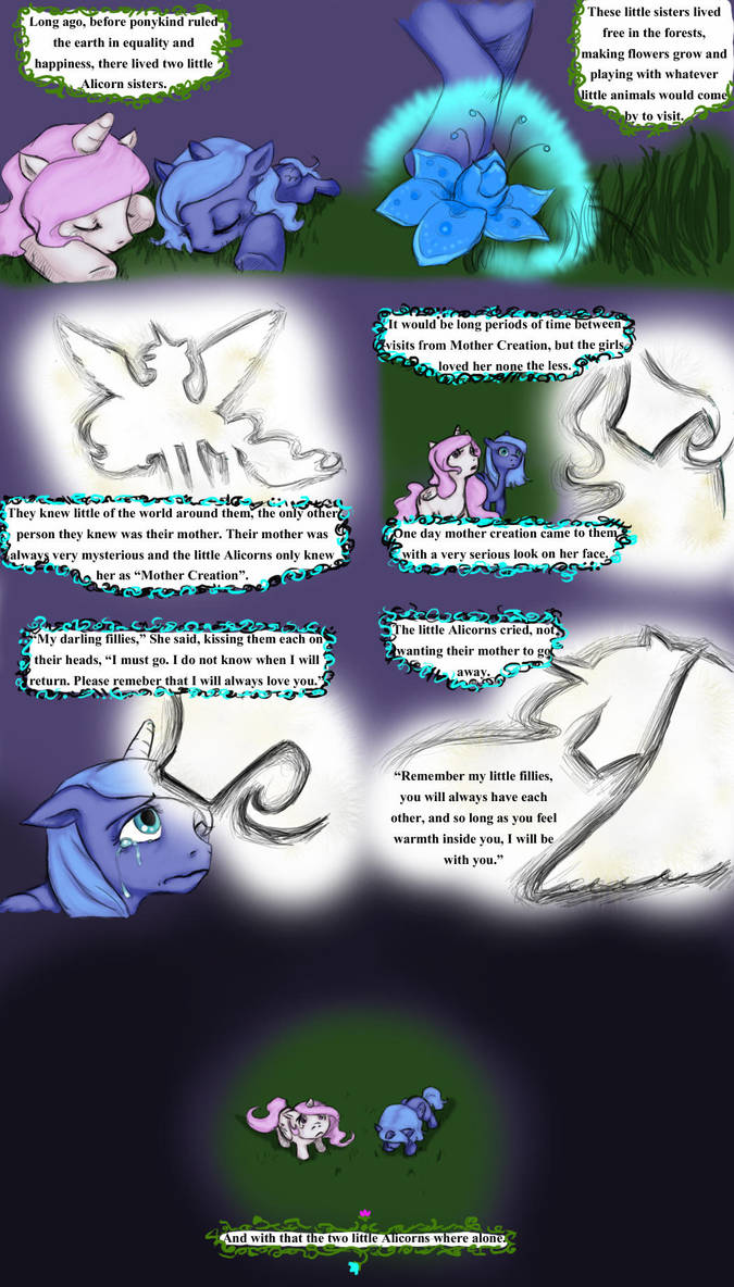 When We Where Young - Page one by BlueParsley