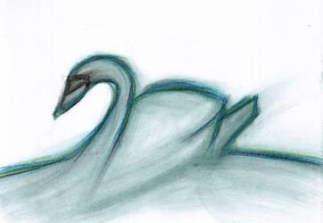 Swan by Ariyenne