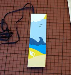 Summer Holiday Bookmark by Ariyenne