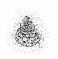 Pine Cone by Ariyenne