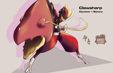 Clawsharp-PokeFusion Challenge by AlanPrince