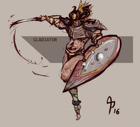 Gladiator Concept Challenge by AlanPrince