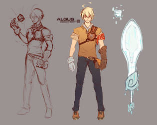Algus 'ALGO' Concept by AlanPrince