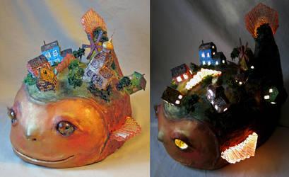 fantastic fish by marew