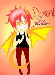 Demon! Me !!! by GamrLinaFrye