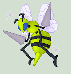 Shiny Beedrill by JestersTrumpcard