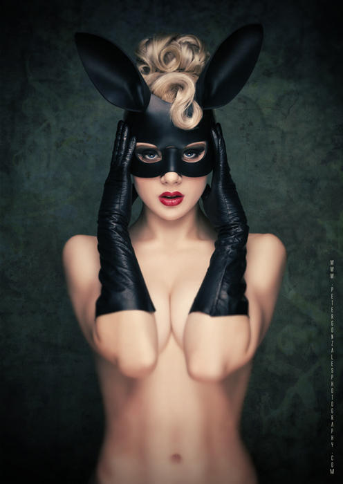 Black Bunny by miss-mosh