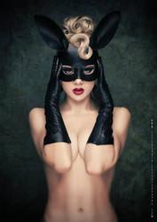 Black Bunny by miss-mosh