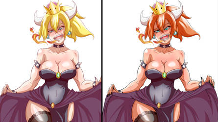 Bowsette by InfinitySign