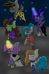 Mlp: New Six To The Gala! (READ DESC) by PCPyne