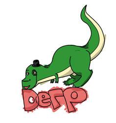 Derp T rex by 55996
