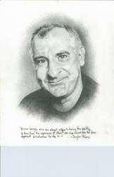 Douglas Adams by silverghosty