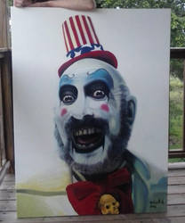 Captain Spaulding by silverghosty