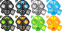 Gas Mask cursors by GasMaskMonster