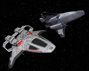 Pheonix Fighter conversion to Lightwave by billy-home