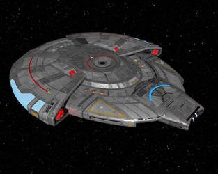 Lightwave conversion of calamity_Si's USS Defender by billy-home