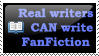 Real Writers Can Write Fanfic by Vira-Fern