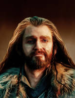 Thorin Oakenshield II by camasarye