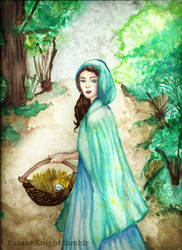 Belle ~ Once upon a time by SusannKnight